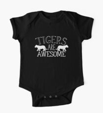 Tigers are awesome One Piece - Short Sleeve