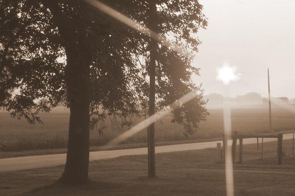 Sepia Sunrise by fotoeluver
