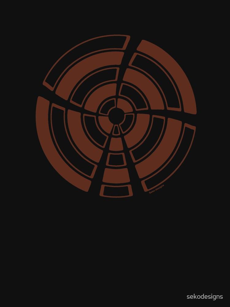 Mandala 25 Chocol'Art by sekodesigns