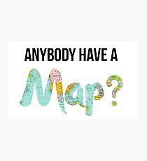 Anybody Have a Map? - Dear Evan Hansen Photographic Print