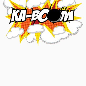 kaboom | comic by pauly