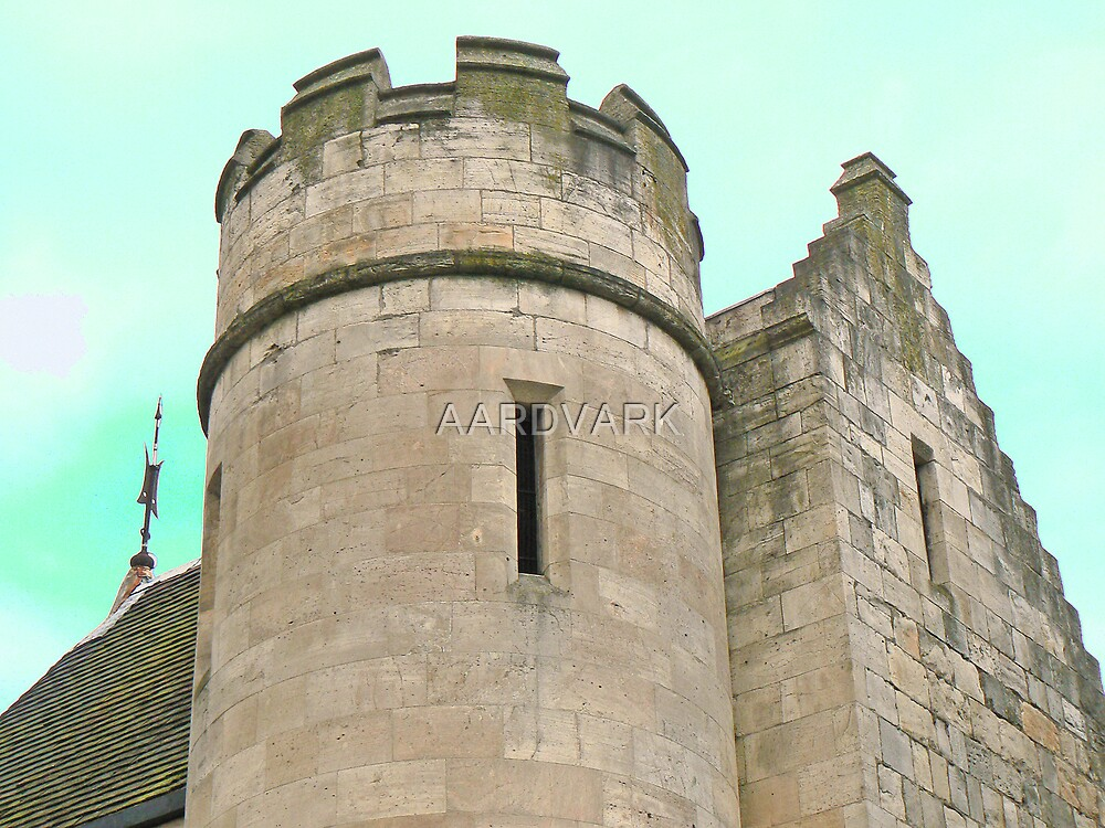 The Gate House To York's Museum Gardens by AARDVARK