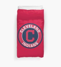 Cleveland Indians Baseball Club Duvet Cover