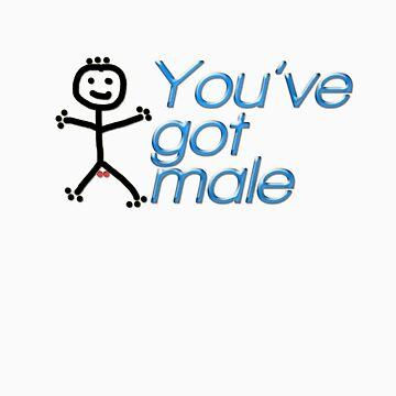 You've got male by RoughDiamond