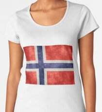 Flag of Norway Women's Premium T-Shirt