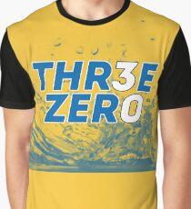 Steph Curry Three Zero Splash Yellow 30 Graphic T-Shirt
