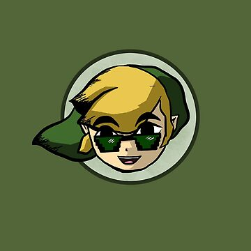 Link with Sunglasses by InfernoApple