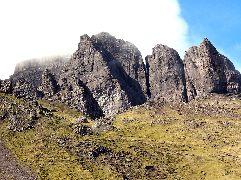 Rocks of The Storr by jacqi