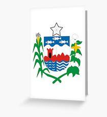 Alagoas, Brazil Greeting Card
