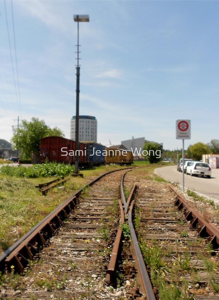 Swiss Tracks by Sami Jeanne Wong