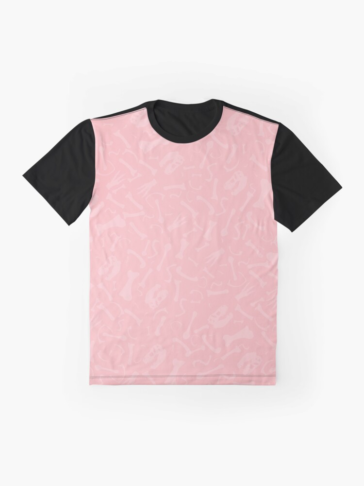 Alternate view of Pretty Prehistoric in Pink Graphic T-Shirt