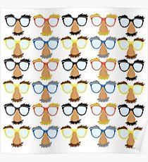 Goofy Glasses Poster