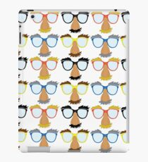 Goofy Glasses iPad Case/Skin