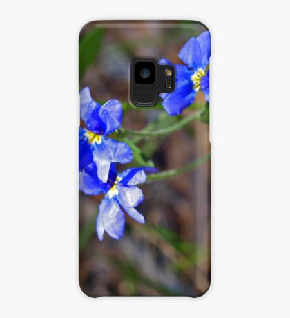 Dampiera linearis Case/Skin for Samsung Galaxy