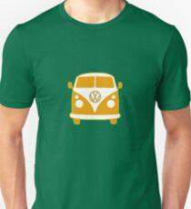 VW Camper T Shirt (orange) Unisex T-Shirt