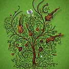 Orchestra (Green version) by vladstudio