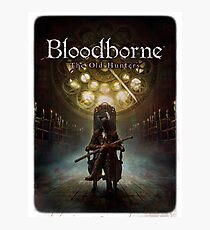 Bloodborne - Lady Maria and the Old Hunters Photographic Print