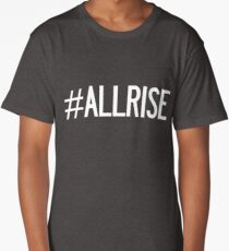 All Rise Aaron Judge Hashtag Long T-Shirt