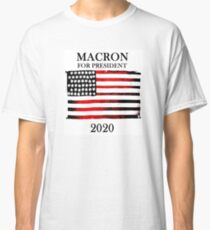 Macron for President Classic T-Shirt