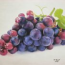 """Bunch of Grapes"" by Rik Kent"
