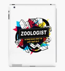 ZOOLOGIST - NO BODY KNOWS iPad Case/Skin