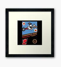 Gizmoduck Hunt Framed Print