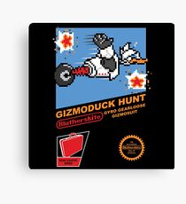 Gizmoduck Hunt Canvas Print