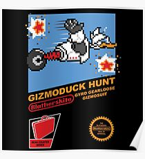 Gizmoduck Hunt Poster