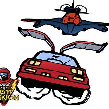 M.A.S.K. / V.E.N.O.M. Thunderhawk and Switchblade Shirt by mtrakker