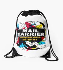 MAIL CARRIER - NO BODY KNOWS Drawstring Bag