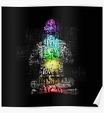 Chakra Matrix Man Poster