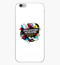 APPLICATIONS DEVELOPER - NO BODY KNOWS iPhone Case