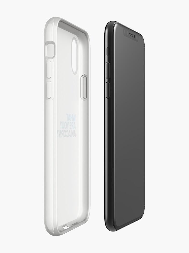 Alternative Ansicht von Ein Eichel? - Lieber Evan Hansen iPhone-Hülle & Cover