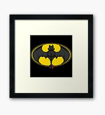 How to Train your Bat Framed Print