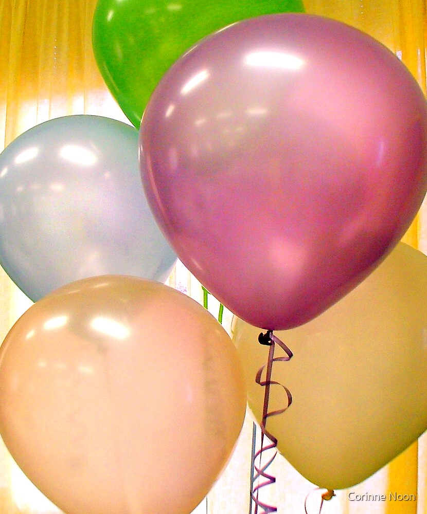 More Balloons by Corinne Noon