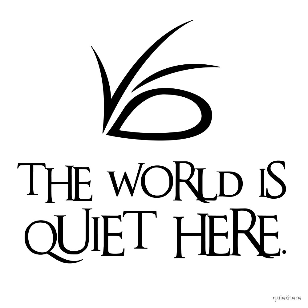The World Is Quiet Here by quiethere