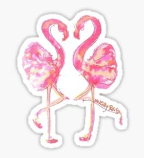 Flamingos Sticker