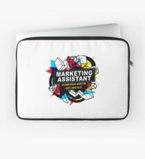 MARKETING ASSISTANT - NO BODY KNOWS Laptop Sleeve