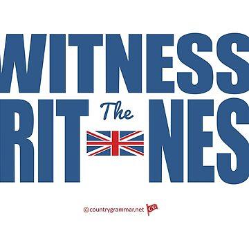 WitnessThe Britness 2.0 by TMan74