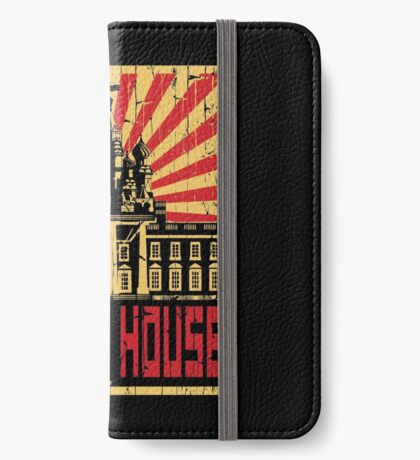 Vintage The Red House iPhone Wallet