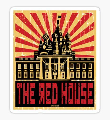 Vintage The Red House Sticker