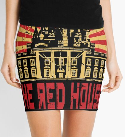 Vintage The Red House Mini Skirt