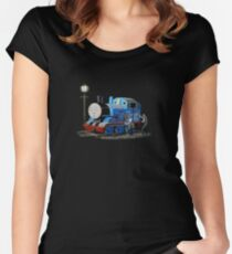 Thomas the Tank - Graffiti  Women's Fitted Scoop T-Shirt