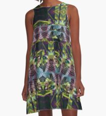 Abstract Pattern Design A-Line Dress