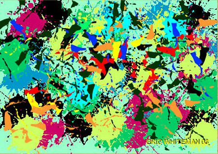 (EGO TRIP ) ERIC WHITEMAN  ART  by eric  whiteman