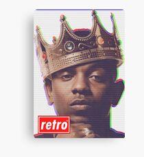Kendrick Lamar - Retro  Canvas Print