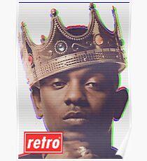 Kendrick Lamar - Retro  Poster