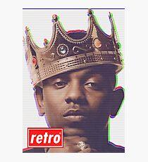 Kendrick Lamar - Retro  Photographic Print