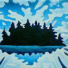 Blue Totem No.2 by Morgan Ralston