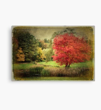 Antique Autumn Canvas Print
